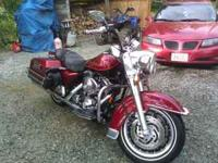 Hi I have a 2000 Harley Road King for sale. It has