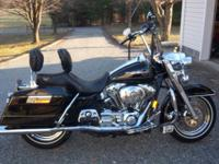 2006 roadking, clear title, vivid black, 38352 miles,