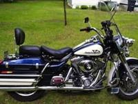 Only 22,000 Miles on this 2004 Road King Police in