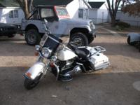 I have a 2005 police road king 22000 mikes fuel