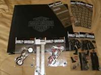 Harley Davidson Scrapbook with several packs of
