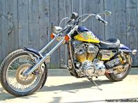 This one of a kind 1996 Sportster was built by In The