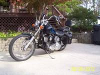 '88 Softail Harley, FXSTC 1340, 5 spd. Lots of chrome,