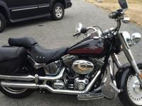 2007 Fatboy only has 8300 miles. Garage kept. Great