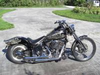 HARLEY DAVIDSON SOFTAIL CUSTOM FXSTC WITH ONLY 3,742