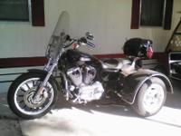 2009 Harley Davidson Trike with extremely low miles