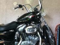 2006 Harley Davidson Sportster 883. Brand New back