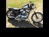 Here is a very nice 1993 Harley Davidson sportster that