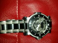 Brand new Harley Davidson watch black and chrome. Two