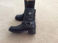Women's Harley Davidson Harness Boots (size 7) worn 4x