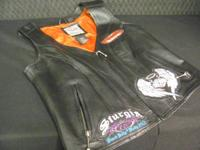 This is a size XS Harley Davidson riding vest-- Perfect