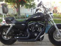 HARLEY DAVISON SPORTSTER XL 1200 CC, LESS THAN 800