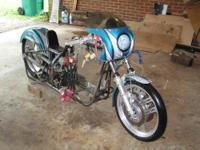 $9,500 OBO Harley Drag Racing Bike that has run low to