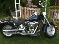 2006 Harley Fat Boy EFI , Peace Officer Edition, 8700