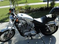 2004 Harley-Davidson Sportster with less than 6,000