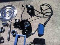 Harley Parts FXD Tripple Tree, Rotors & brake Harley