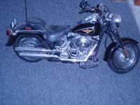 RC Harley Motorcycle with charger, battery. good shape.