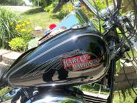 Low milage 2008 Harley Davidson Softail Custom. Its