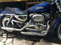 2009 Harley Sportster 1200 XL Low. 12997 miles garage