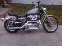1998 Harley Sportster 1200 custom-made with chrome plan