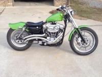 1987 harley sportster, original 883 built to a 1200,