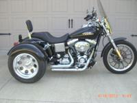 Harley Trike. Conversion of 2005 Fuel-Injected