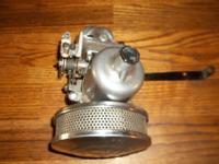 Vintage SU Carb with bracket , removed from running
