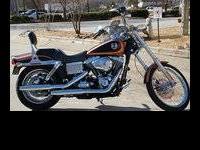 2008 Harley Davidson Wide Glide FXDWG Dyna 105th