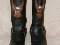 Like new Harley Davidson Steel Toed Boots. Worn once or