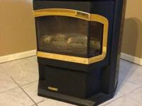"For Sale:.  A Harmon ""Advance"" Pellet Stove in terrific"
