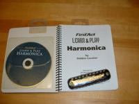 Learn & Play Harmonica. Includes harmonica, a play