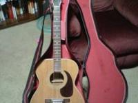 Harmony 6 string acoustic guitar in good used