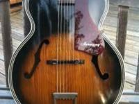 Excellent Condition Harmony H1215 Archtop Guitar.  Made