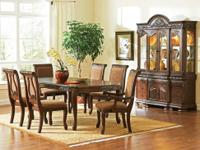 This Harmony Dining Room Set Comes With The Table, Six