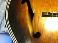 65 Kay Arch Top Project Guitar For Sale In Derby Kansas