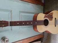 Harmony h6128 parlor guitar made in 70s in Chicago
