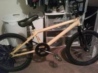 I got a yellow haro for sell front tire is poped crank