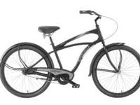 Newer Black Haro Trade wind 3-speed Beach Cruiser with