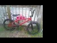 the haro is in great condition the the front forks need