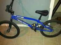 Blue haro backtrail x1. Perfect condition. Asking $80.