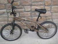 BMX Haro Bike... Brown - I bought this bike for my son