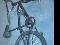 Haro Bmx Bike. No brakes and small tear in seat. (See