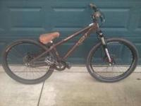 07 Haro dirt jumper. Not ridable in current condition.