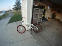 i have a haro bmx bike, i rode it from time to time
