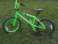 We are selling a Haro Forum Intro Lite BMX bike - in