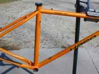 "Size 20"", 4130 tubing, disc only, 135mm spacing, frame"