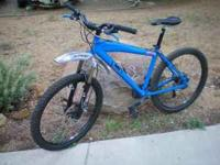 I have a very nice Haro Mountain bike with disc brakes,