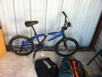 Crazy awesome Haro On/Off Road Bike with rear pegs and
