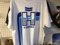 HARO RETRO SHIRTS/HATS on sale now at RED-D BIKES!!!!
