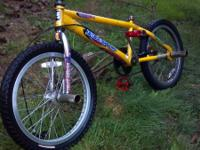 Haro supra bmx bike with terrific parts. maxxis maxx
